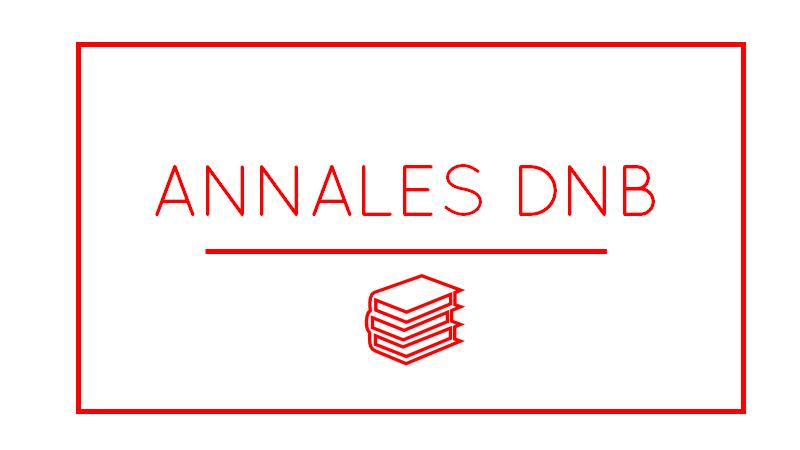 Annales dnb